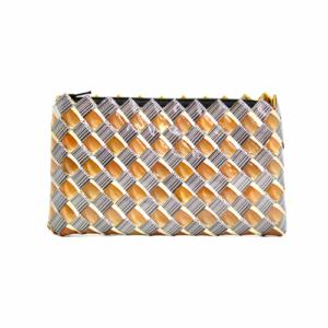 Medium wallet - Brown & barcode wallet
