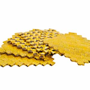 Coaster - Dark Yellow & Bean