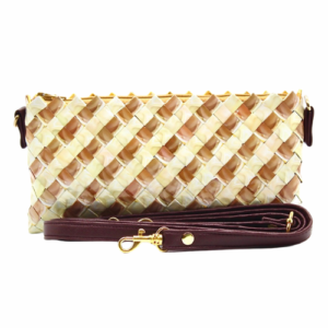 Crossbody - Brown & Creme