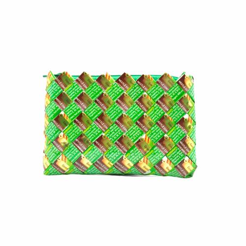 Coin Purse Mini - Green & Gold