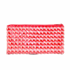 Clutch Xl - pink & red