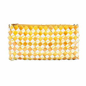 Large Wallet - Yellow & bean