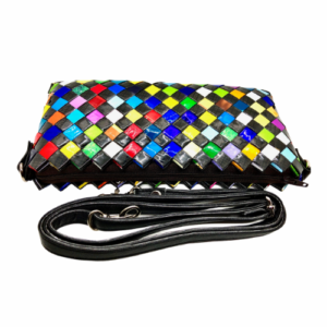 CrossBody Purse - Dark Confetti